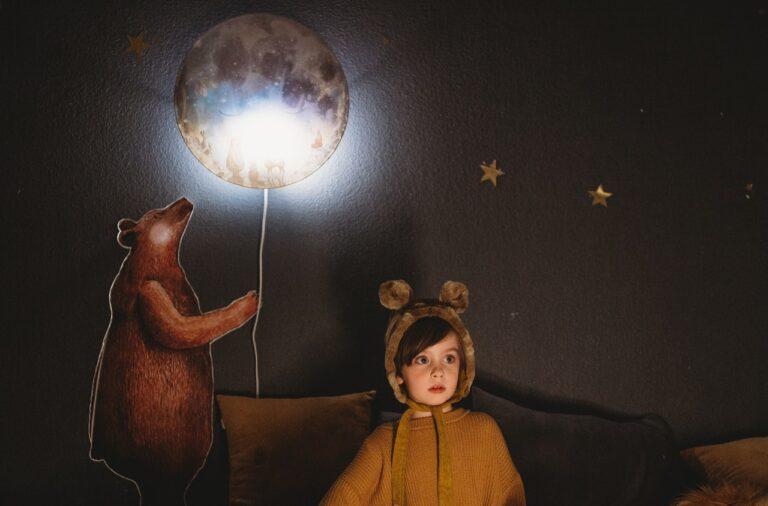 chambre enfant peinture phosphorescente