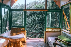 veranda ossature bois